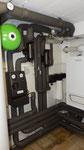 Neue Heizung hydraulisch abgeglichen und einreguliert.