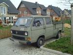 16. Fahrzeug (Zweitwagen, Baustelle) - VW Doka - 1600 ccm - 49 PS