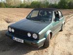"""18. Fahrzeug (Zweitwagen) - VW Golf 1 Cabrio 1.8 """"Etienne Aigner"""" - 1781 ccm - 98 PS"""