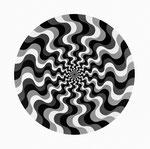 Wellenelement 1 multiple Rotation 5, 1966 − 1967