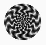 Wellenelement 1 multiple Rotation 3, 1966 − 1967