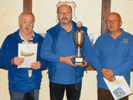 Die Tagessieger: Reinhard, Udo u. Dieter