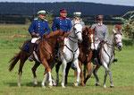 Internationale deutsche Kavalleriemeisterschaften in Crawinkel (Thüringen)