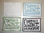 Band-Badges-Package-Church Of Mental Enlightment-Stickstelle-Stickerei-Leipzig