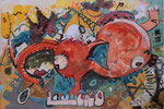 rilceglav, olje 25x35cm 2010