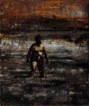 """Neuling"", 2020, Öl auf Leinwand, 30 x 25 cm"
