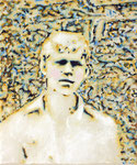"""Junge"", 2020, Öl auf Leinwand, 30 x 25 cm"