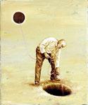 """Transfer"", 2020, Öl auf Leinwand, 30 x 25 cm"
