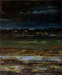 """""""Dämmerung"""", 2020, Öl auf Leinwand, 30 x 25 cm"""