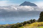 Alto Pico von Faial aus
