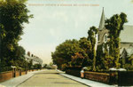 A view of Shirley Road and the church, c. 1905