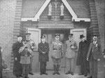 Opening of the church, 26 March 1925
