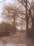 The old lane, known locally as Muddy Lane c. 1905