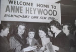 Anne Heywood welcomed back at new Street Station, 6th February 1958 (original source not known)