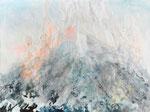 Auf der Suche  nach der Gesellschaft  2010,  Öl auf Leinwand,  150 x 200 cm