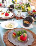 春野菜とローストポーク