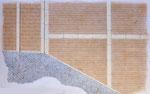 Spoleto, via dell'Arringo e p.zza del Duomo: stato di progetto, 1996, particolare.