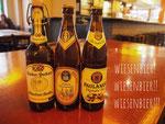 オクトーバーフェスト用ビールはこの期間各醸造所のものがスーパーでも売られていて選び放題♡