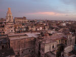 夕暮れ時のハバナの街並み 次に訪れた時にどうなっているか これからの変化もとても楽しみな国でした