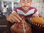 モロッコへは行くのをずいぶん渋っていた私だけど タジン鍋がおいしくてごきげん←単純(笑)