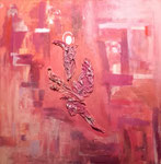 Engel und die Fenster zur Seele 70x70