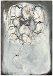 Markus Baldegger, o. T., 2009, Tusche/Öl auf Postkarte, 15,0 x 10,0 cm, 350,-EUR, Nichtm. 500 EUR