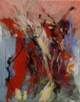 Deva Wolfram, o. T., 1994, 24 x 30, Nr. 107/94, Öl auf Leinwand,