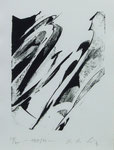 K. O. Götz, 0. T., 1989, 20 x 25,5, Lithographie, 400,- EUR, Nichtmitgl. 800,- EUR