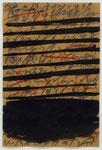 Apostolos Palavrakis, o. T., 1996, 14,5 x 21, Öl u. Kreide auf Papier