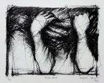 Herbert Galle, meine Arme, 1982, 25 x 46, Lithographie, 200,- EUR, Nichtmitgl. 300,- EUR