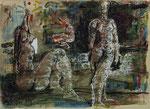 Thomas Gatzemeier, o. T., 1999, 31 x 23, Mischtechnik auf Papier, 350,- EUR, Nichtmitgl. 550,- EUR