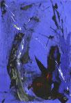 Ute Knickenberg, el golfo, 1994, 47,5 x 35, Mischtechnik auf Papier, 200,- EUR, Nichtmitgl. 350,- EUR
