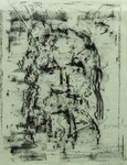 Alfred Heth, o. T., 1995, 50 x 70, Monotypie, 250,- EUR, Nichtmitgl. 400,- EUR