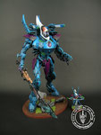 Eldar wraithknight blue