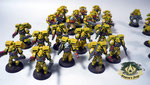 imperial fists Space Marine Assault Squad