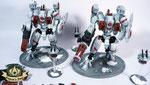 Riptide Battlesuit white tau