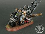 Dark Vengeance, Dark Angels, Ravenwing Bike Squadron, Painted