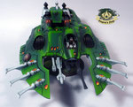 Eldar Wave Serpent green