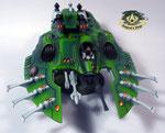 Eldar Wave Serpent green
