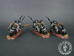 Dark Vengeance, Dark Angels, Ravenwing Bike Squadron, Painted