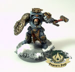 Space Wolves Arjac Rockfist The Anvil of Fenris