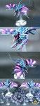 Tyranids Harpy blue violet