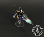 galaxy space  warlock jetbike