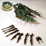 Eldar Wave Serpent biel-tan magnetized