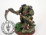 Typhus herald of nurgle chaos space marines