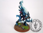 eldar Wraithblades blue ghost axe forceshield