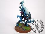 eldar Wraithblades blue ghost axe forceshield