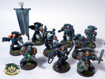 Space Marine Command Squad Ultramarines Tyrannic War Veterans