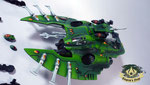 Eldar Wave Serpent biel-tan