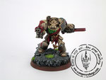 Dark angels terminators Dark Vengeance, Painted